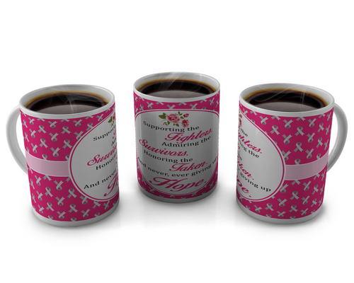 Breast Cancer Awareness Coffee mugs Design # 15
