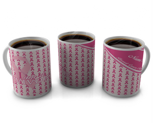 Breast Cancer Awareness Coffee mugs Design # 14