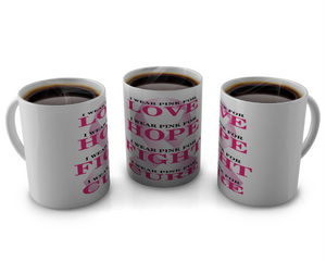 Breast Cancer Awareness Coffee mugs Design # 10