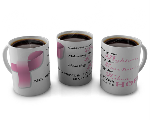 Breast Cancer Awareness Coffee mugs Design # 8