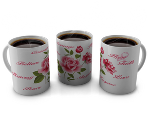 Breast Cancer Awareness Coffee mugs Design # 7