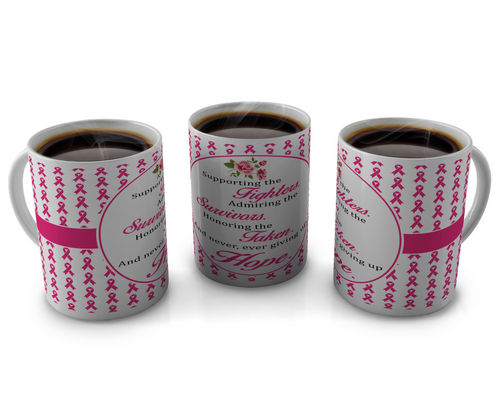 Breast Cancer Awareness Coffee mugs Design # 58