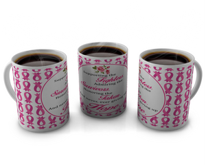 Breast Cancer Awareness Coffee mugs Design # 4