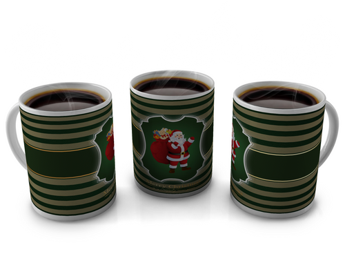 Christmas Coffee cup Design 8