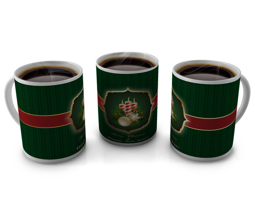 Christmas Coffee cup Design 10