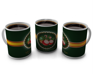 Christmas Coffee cup Design 11
