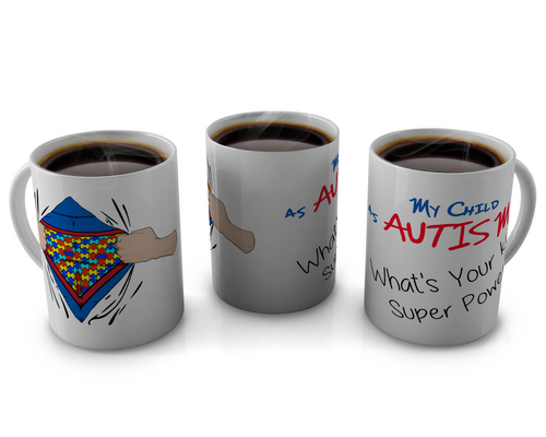 autism Awareness, coffee cup ,shirt