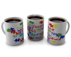 Autism Awarness Coffee mug Design # 59