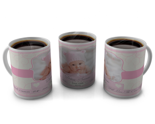 Birth Announcement Coffee mug Design 25