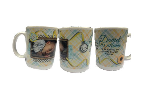 Birth Announcement Coffee mug Design 76