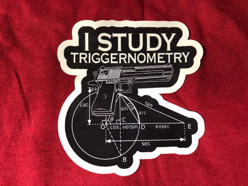 I study triggernometry  Sticker