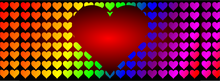 Load image into Gallery viewer, Heart Rainbow