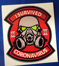 Load image into Gallery viewer, I Survived Covid 2020 (a) Sticker