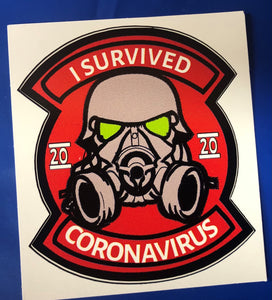 I Survived Covid 2020 (a) Sticker