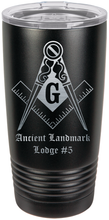 Load image into Gallery viewer, Freemason drink tumbler