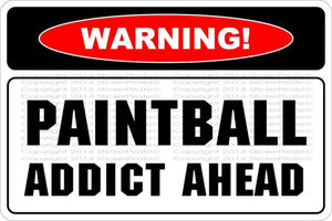 PAINTBALL AND AIRSOFT FULL COLOR EXTERIOR ALUMINUM SAFETY SIGNS