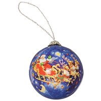 Load image into Gallery viewer, Half Round Plastic Ornament 12 pack