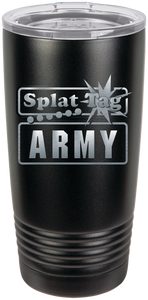 20oz Splat Tag Army Tumbler