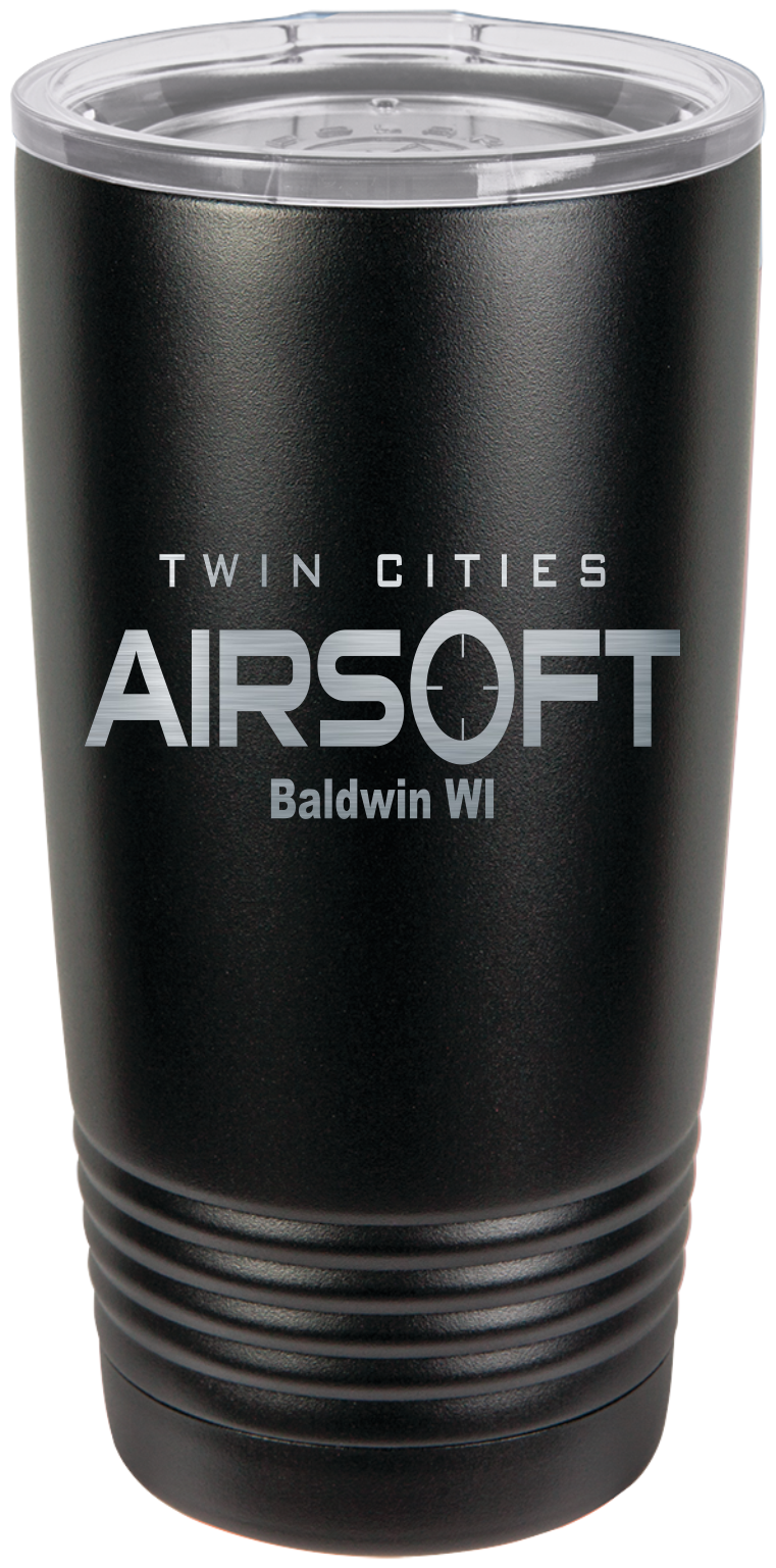 Twin cities Airsoft TCA 20oz tumbler