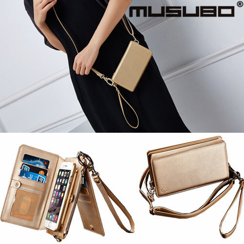 2019 New Fashion Multi-function Girl Phone Bag Leather Case