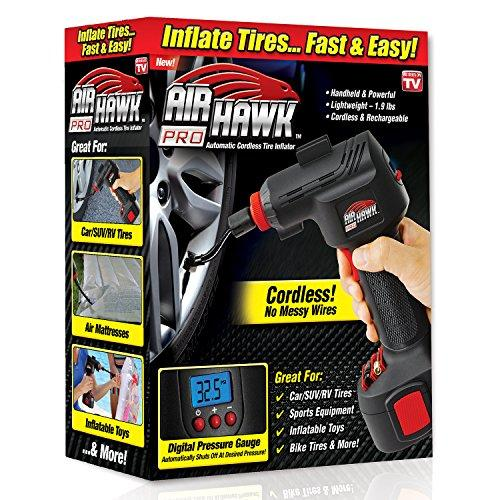 Automatic Cordless Tire Inflator Portable Air Compressor - oblevs