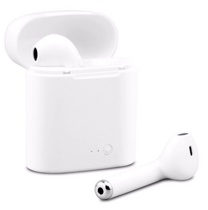 NEW i7s Bluetooth Wireless Earbud Headphones With Charging Case- [Special Offer]