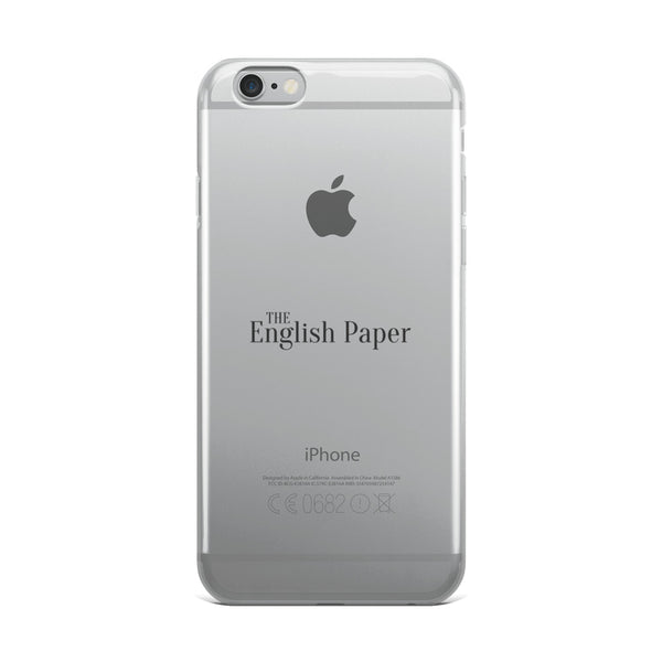 'The English Paper' iPhone Case