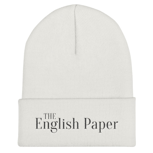 """The English Paper"" beanie"