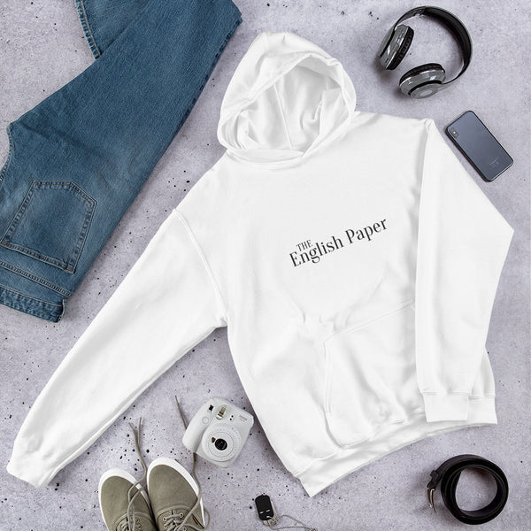 """The English Paper"" Unisex Hooded Sweatshirt"