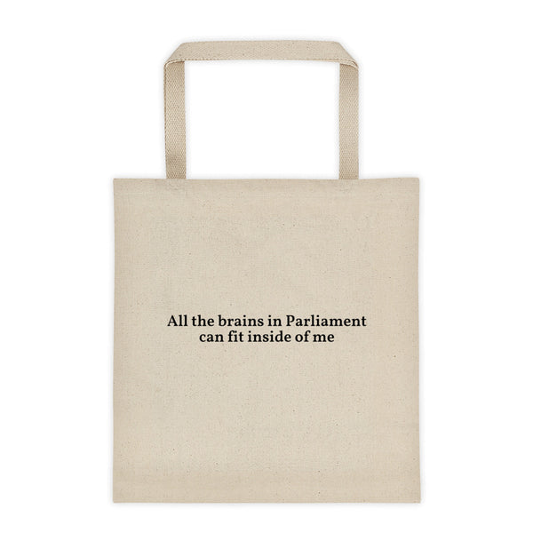 'Parliament Little Brains' Tote Bag