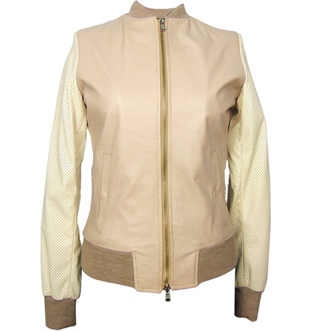 ChiaraD leather bomber.