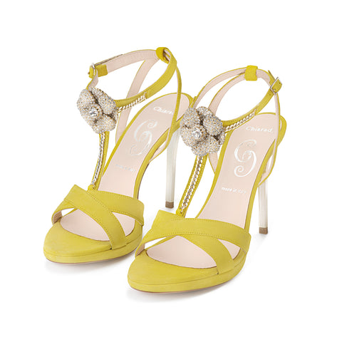 5893 YELLOW FLUO SANDAL