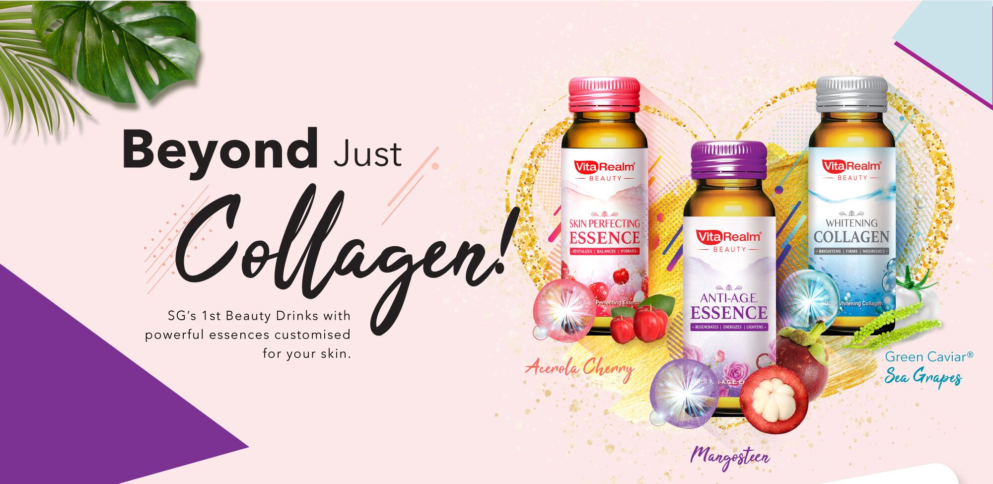 Vitarealm Beauty Collagen is good for oily skin