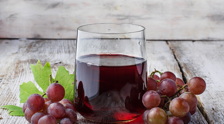 Grape Juice are great for aging skin and can reduce dark skin patches