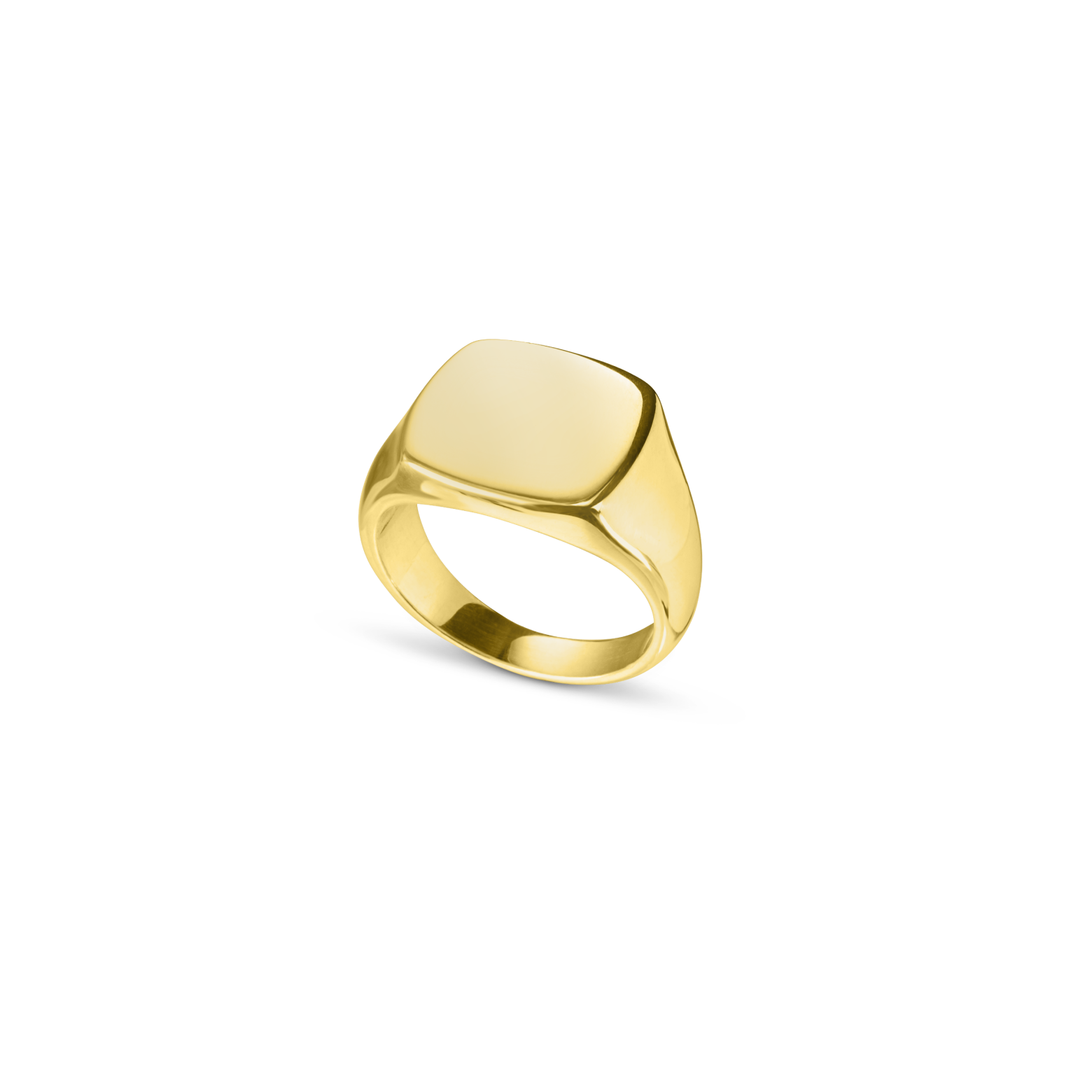 The Cushion Signet Ring