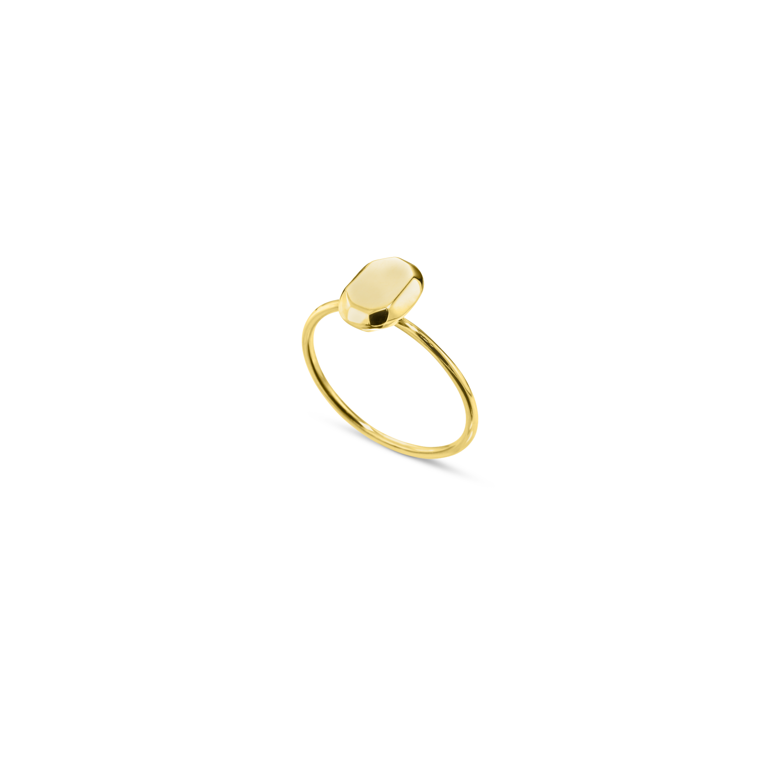 The Mini Oval Ring