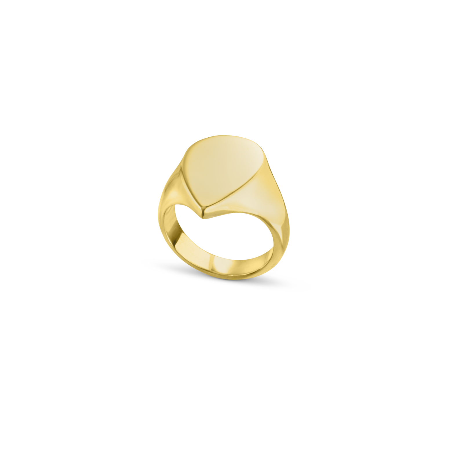 The Pear Signet Ring