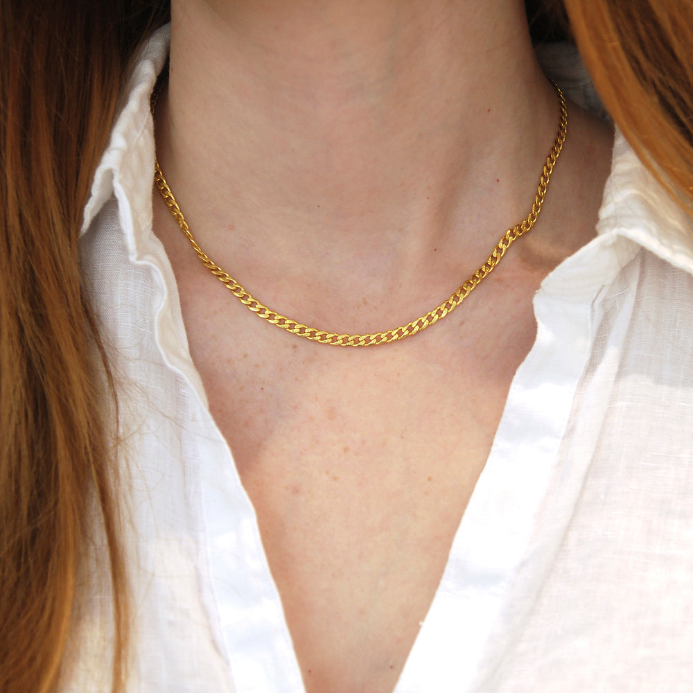 The Curb Chain Necklace