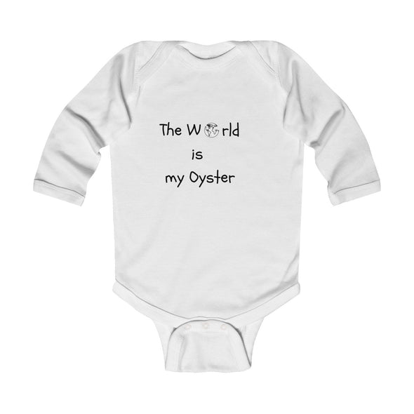 The World is my oyster Bodysuit - Mindfully Kids