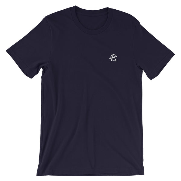 Crypto Anarchy Embroidered Logo - T-Shirt