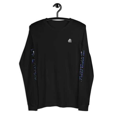 Chrome Logo Back - Long Sleeve Tee