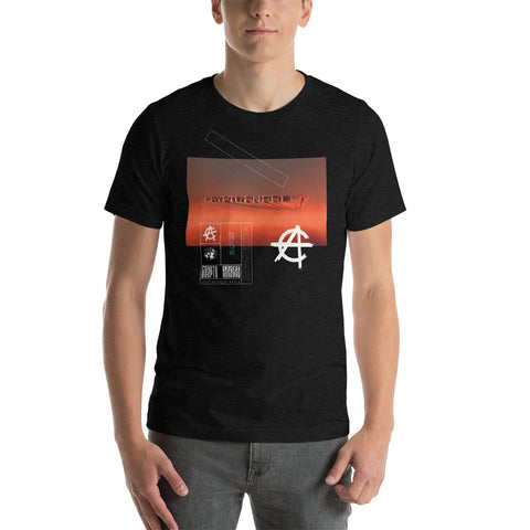 Crypto Anarchy Logo Sky - T-Shirt