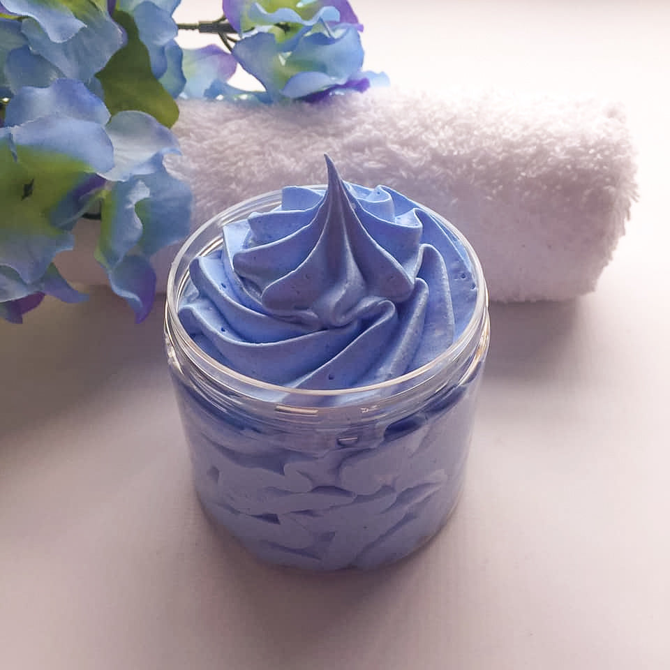 Snow Faerie Whipped Soap - Snowdonia Soaps