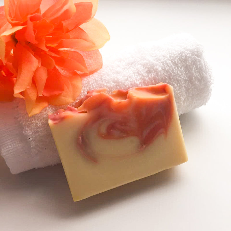 Peony & Blush Suede Soap