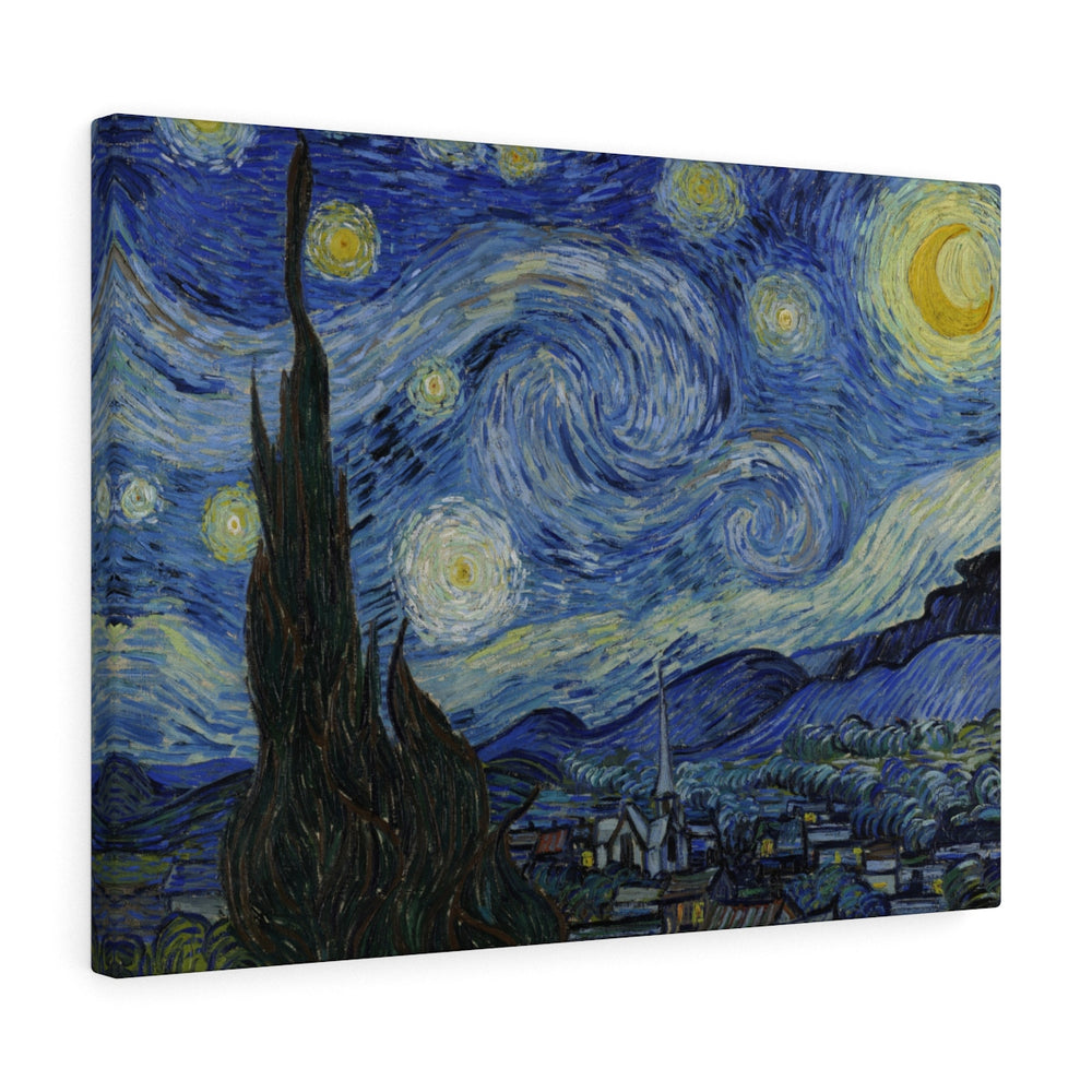 Van Gogh, Starry Night, Starry Night by Vincent van Gogh, Classic Painting Print, Night Sky Wall Art Print, Fine Art, Famous Painter