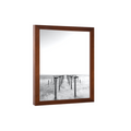37x21 Picture Frames White Wood 37x21 Photo Frame 37 x 21 poster frame - Polishing Acrylic Glass Front