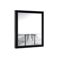 10x7 Picture Frame Black Wood with Glass 10x7 Photo Frame - 10 x 7 Poster Frame