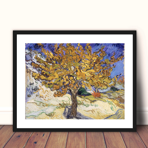 The Mulberry Tree by Vincent Van Gogh Framed Art