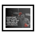 Mike Tyson Quote Motivational Wall Art Decor
