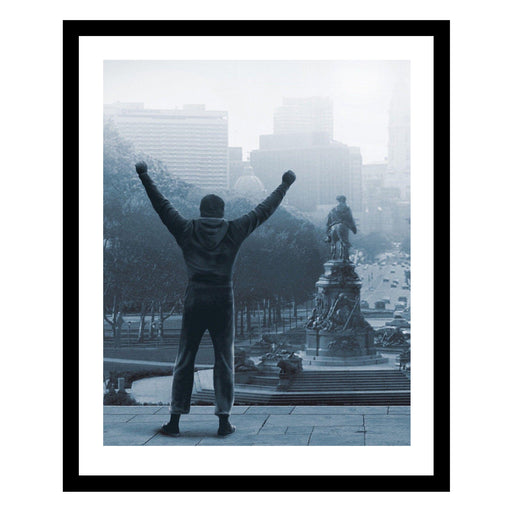 Rocky Balboa Poster Framed Wall Art